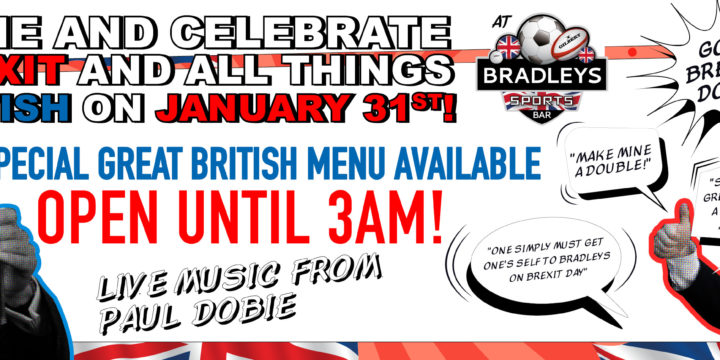 Celebrate Brexit at Bradleys!